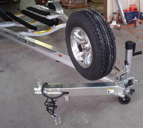swing away boat trailer tongue trailer tongue modification questions pics the hull
