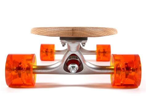 Handcrafted Skateboards - personalised handmade oak 70 s skateboard by nudie boards