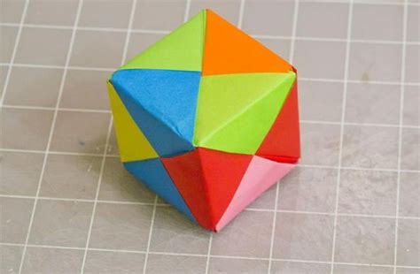 How To Make A Origami Cube - magic corner unit dimensions crafts