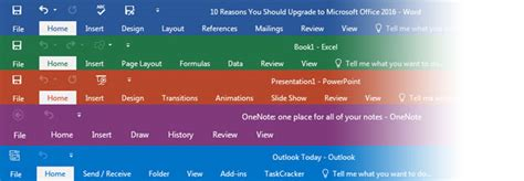 microsoft colour themes 13 reasons you should upgrade to microsoft office 2016