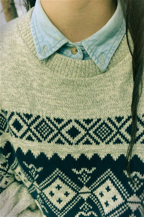 pattern sweaters tumblr sweater indie pastel aztec knit knitted sweater polo
