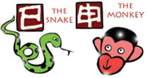 snake and monkey chinese compatibility horoscope for a