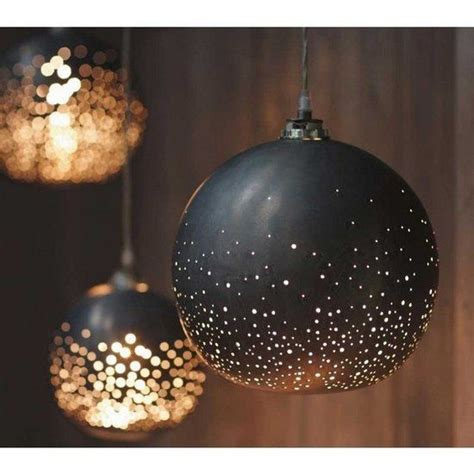 starry night light poke holes in a lshade to make a