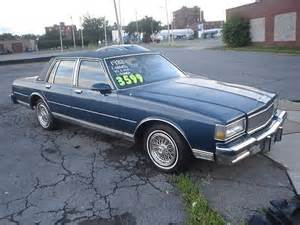 Chevrolet Impala 1988 Find Used 1988 Chevrolet Caprice Classic Brougham 80k