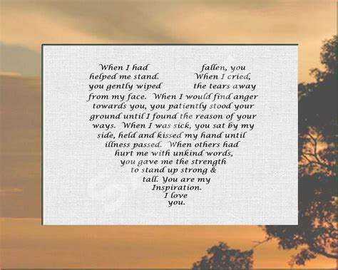 gift  mother  father  son  daughter love poem