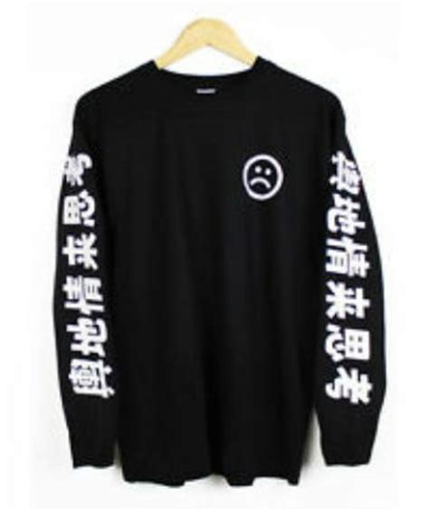 Sweatee Boy Black sweater sad boys japan black wheretoget