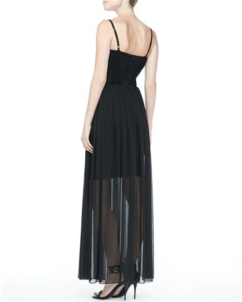Shakira Maxy lyst shakira bustier maxi dress