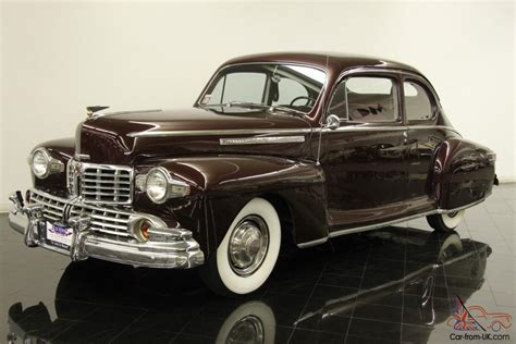 1946 lincoln zephyr 1946 lincoln zephyr club coupe 292ci v12 3 speed od