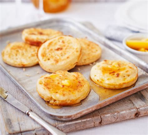 Handmade Breakfast - crumpets with burnt honey butter recipe