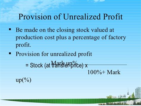 Plu Mba Cost by Manufacturing Account Ppt Mba Finance