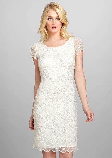 cream lace dress   My Style   Pinterest   Cap Sleeves