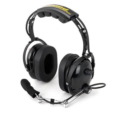 rugged radio headsets rugged radios pro oth headset black nascar electronic