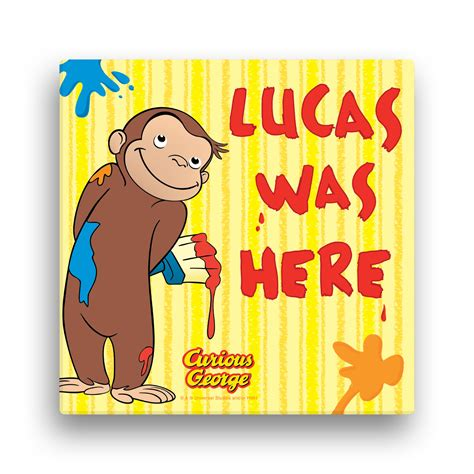 painting curious george supply guide curious george