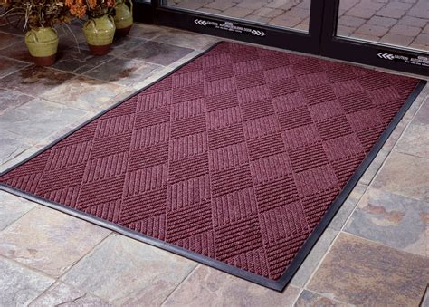 Post Mat by Aquasorb Premiere Entrance Mats Commercial Grade Rubber