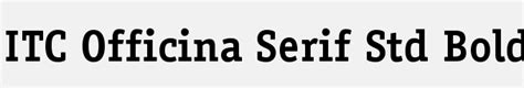 Officina Serif by Font Finder Free Fonts To