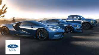 showcasing the ford performance vehicle lineup vehicle