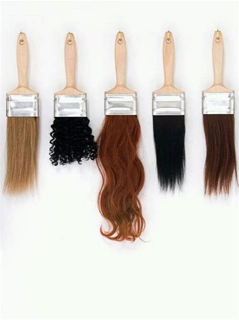 Paint Brush Hair Types by Hair Type Paint Brushes And Left On