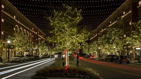 frisco downtown lights in the square 10th anniversary celebration