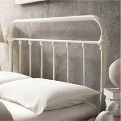 Antique Iron Headboards Queen inspire q giselle antique white graceful lines victorian