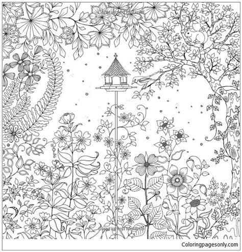 secret garden coloring pages free secret garden coloring page free coloring pages online