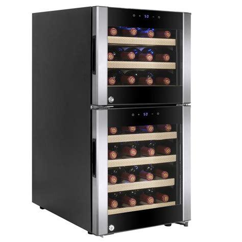 akdy 15 75 in 33 bottle compressor wine cooler hd wc0039