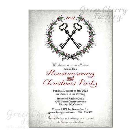 printable christmas key vintage christmas housewarming invitation vintage key