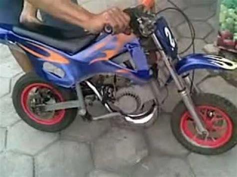 Motor Cross Mini Mesin Potong Rumput mini trail 50cc fando