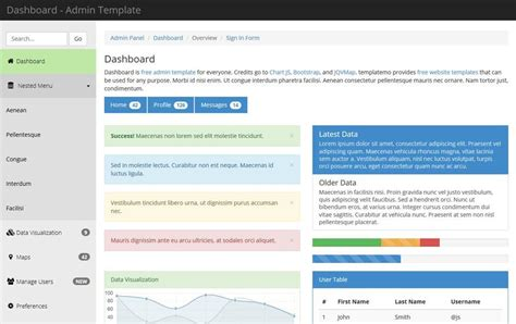 free templates for asp net projects free mvc bootstrap templates phpsourcecode net