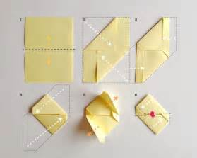 How To Fold A4 Paper Into An Envelope Diy Stationery For Valentine S Day Handmade Charlotte