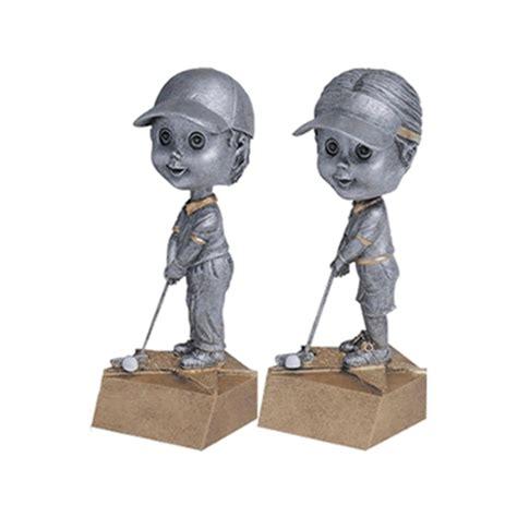 bobblehead t trophies golf bobblehead trophies with