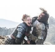 Rory McCann And Gwendoline Christie In 'Game Of Thrones