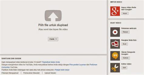 membuka youtube di blackberry cara upload video dan panduan upload video ke youtube