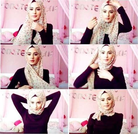 cara memakai hijab segi empat yang modis dan simple hijab terbaru cara memakai hijab segi empat simple modis dan praktis