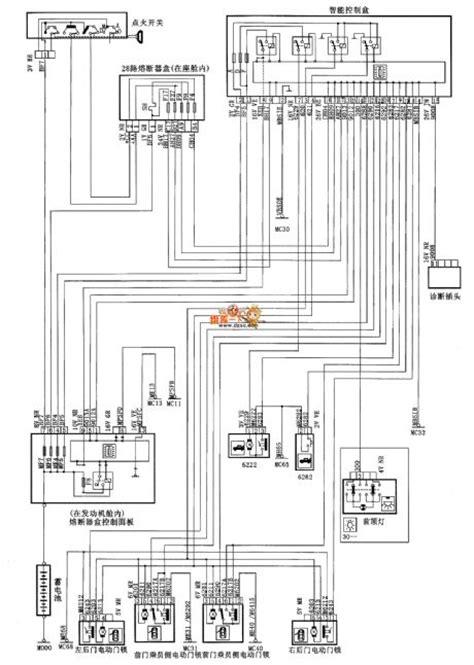 xsara saloon car central door lock circuit diagram automotivecircuit circuit diagram