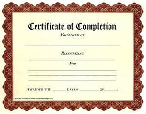 certificate of completion templates free 28 certificate of completion templates free completion