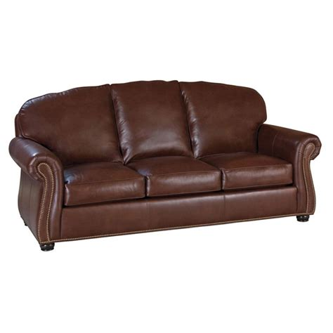 Classic Leather Sofa Classic Leather 98 66 3 3 Wt Morrison Sofa Discount Furniture At Hickory Park Furniture Galleries