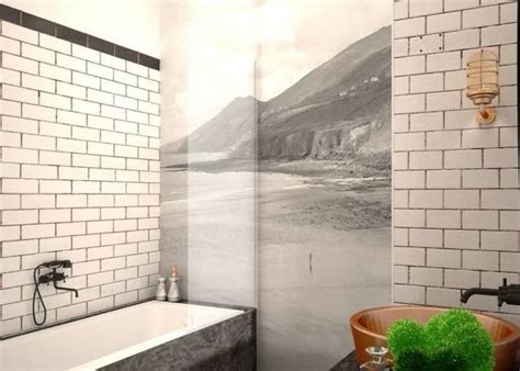 Modern Subway Tile Bathroom Designs Subway Tiles In 20 Contemporary Bathroom Design Ideas Rilane