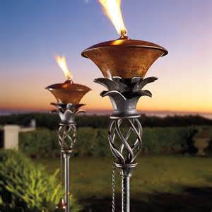 pineapple torches backyard pool ideas