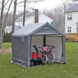 shelterlogic shed in a box canopy storage shed 6l x 6w x