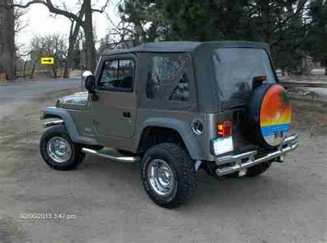 Used 2006 Jeep Wrangler Buy Used 2006 Jeep Wrangler Se Sport Utility 2 Door 2 4l