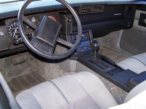 1989 Camaro Interior by 1989 Chevrolet Camaro Rs Convertible 138083
