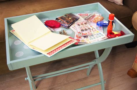 Portable Craft Table by Portable Craft Table Create And Babble