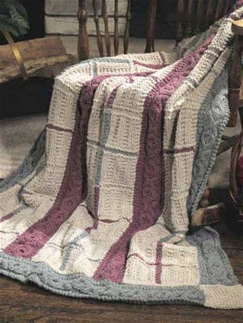 knit an afghan free cabled afghan knitting patterns cabled gansey afghan