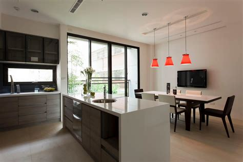 ideas for modern kitchens modern kitchen diner interior design ideas