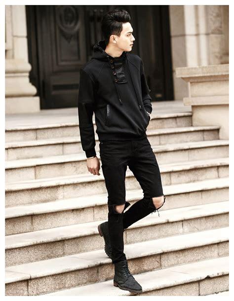 Hoodie 3 Wisata Fashion Shop black hoodie style fashion ql