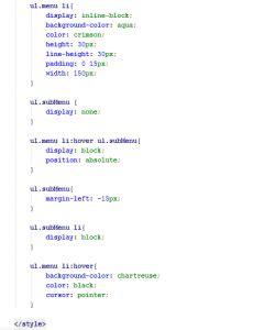 cara membuat menu dropdown html css cara mudah membuat dropdown menu dengan html dan css