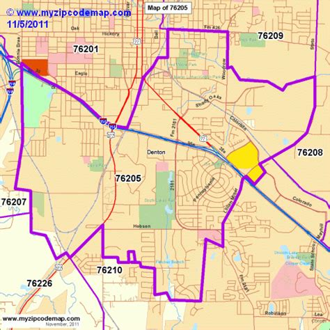 denton texas zip code map zip code map of 76205 demographic profile residential housing information etc