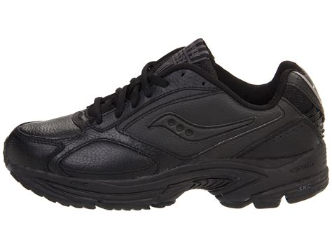 saucony womens walker leather low top lace up walking