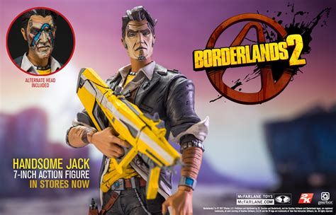 Mcfarlane Borderlands 2 Handsome borderlands handsome and tiny tina in stores now