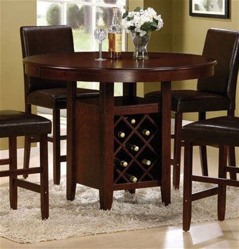 Dining Table With Wine Rack by The World S Catalog Of Ideas